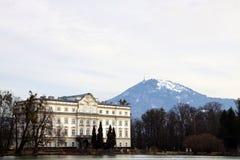 Palácio de Schloss Leopoldskron perto de Salzburg Fotografia de Stock