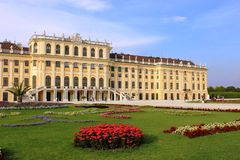Palácio de Schoenbrunn, Viena, Áustria Fotos de Stock Royalty Free