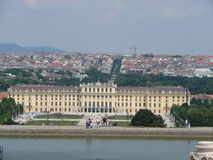 Palácio de Schonbrunn Fotos de Stock