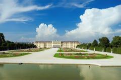 Palácio de Schonbrunn em Viena, Áustria fotografia de stock
