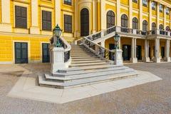 Palácio de Schonbrunn em Viena, Áustria imagens de stock royalty free
