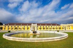 Palácio de Schonbrunn em Viena, Áustria imagem de stock