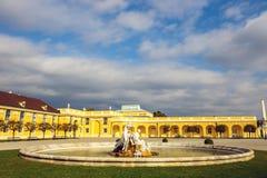 Palácio de Schonbrunn em Viena, Áustria imagem de stock royalty free