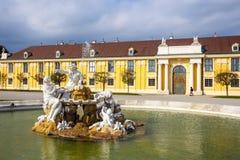 Palácio de Schonbrunn em Viena, Áustria fotografia de stock royalty free