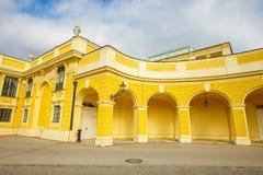 Palácio de Schonbrunn em Viena Áustria imagem de stock