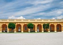 Palácio de Schonbrunn em Viena fotos de stock