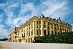 Palácio de Schonbrunn em Viena fotos de stock royalty free