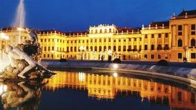 Palácio de Schonbrunn em Viena foto de stock royalty free