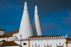 Palácio de Sintra Palacio Nacional de SIntra Imagens de Stock Royalty Free