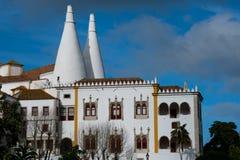 Palácio de Sintra Palacio Nacional de SIntra Foto de Stock Royalty Free