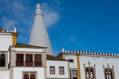 Palácio de Sintra Palacio Nacional de SIntra Fotografia de Stock Royalty Free