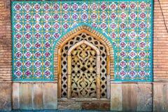 Palácio 30 de Tehran Golestan foto de stock