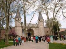 Palácio de Topkapı imagem de stock royalty free