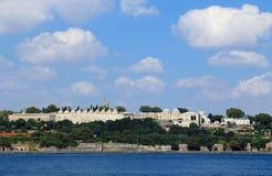 Palácio de Topkapi - Istambul imagens de stock