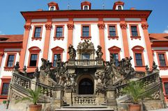 Palácio de Troja em Praga Imagem de Stock