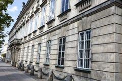 Palácio de Tyszkiewicz, Varsóvia Imagens de Stock Royalty Free