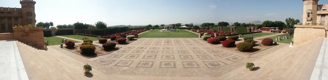 Palácio de Umaid fotografia de stock