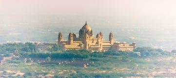 Palácio de Umaid Bhawan, Índia fotografia de stock royalty free