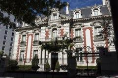 Palácio de Unzué do lzaga do  de à Imagens de Stock Royalty Free