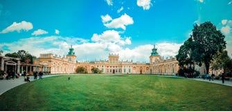 Palácio de Varsóvia Fotos de Stock