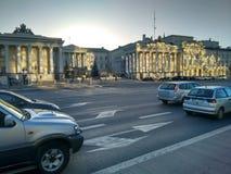 Palácio de Varsóvia do presidente da cidade Foto de Stock