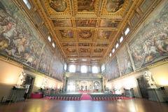 Palácio de Vecchio, Florença-Italia Fotos de Stock