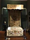 Palácio de Venaria Reale, residência real e cama imagem de stock royalty free