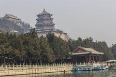 Palácio de verão, Beijing, China Imagens de Stock Royalty Free