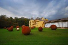 Palácio de verão de Helbrunn, Salzburg, Áustria imagens de stock