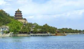 Palácio de verão do â de Beijing (Peking), China Fotografia de Stock Royalty Free