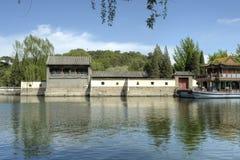 Palácio de verão do â de Beijing (Peking), China Fotos de Stock Royalty Free