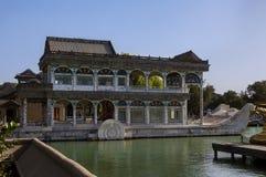 Palácio de verão e jardim imperial no Pequim Imagem de Stock