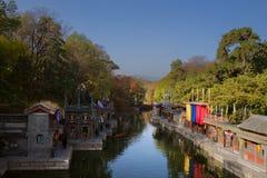 Palácio de verão e jardim imperial no Pequim Fotos de Stock