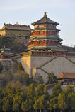 Palácio de verão, Pequim, China fotos de stock