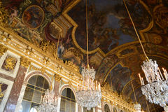 Palácio de Versalhes no Ile de France Fotografia de Stock Royalty Free