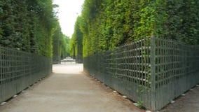 palácio de Versalhes, Paris, france, 4k video estoque