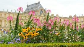 palácio de Versalhes, Paris, france, 4k vídeos de arquivo