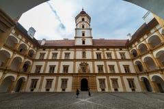 Palácio de visita de Eggenberg em Graz, capital de Styria Fotos de Stock Royalty Free