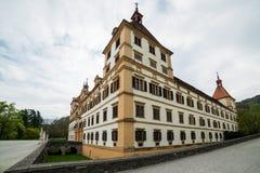 Palácio de visita de Eggenberg em Graz, capital de Styria Fotos de Stock