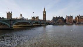 Palácio de Westminster e Ben grande Imagem de Stock Royalty Free