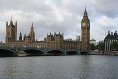 Palácio de Westminster, Londres Fotos de Stock Royalty Free