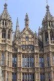 Palácio de Westminster, o parlamento, fachada, Londres, Reino Unido imagens de stock