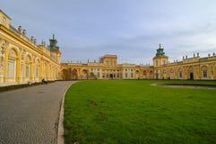 Palácio de Wilanow Imagem de Stock
