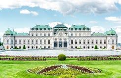 Palácio do Belvedere foto de stock royalty free