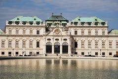 Palácio do Belvedere de Viena fotos de stock royalty free