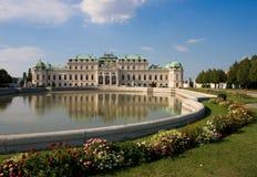 Palácio do Belvedere em Viena, Áustria fotos de stock royalty free