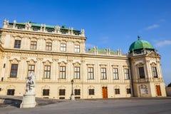 Palácio do Belvedere em Viena, Áustria foto de stock