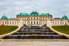 Palácio do Belvedere em Viena, Áustria imagens de stock royalty free