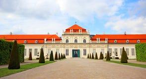 Palácio do Belvedere em Viena fotografia de stock royalty free