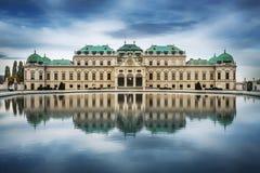 Palácio do Belvedere, Viena, Áustria fotos de stock royalty free
